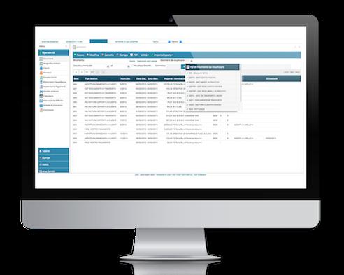 schermata modulistica gestionale